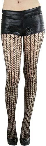 ToBeInStyle Women/'s Seamless Spandex Stripes Crocheted Pantyhose Hosiery Tights