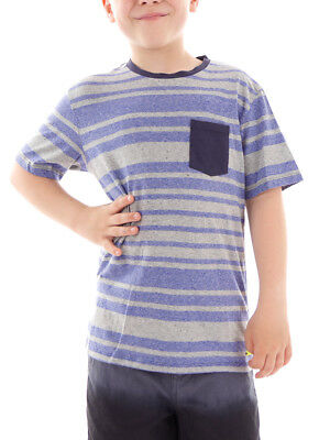 Shirt Top Short-sleeved Abanas Blau Stripes Elastic Outstanding Features Tops, Shirts & T-shirts Diligent Brunotti T