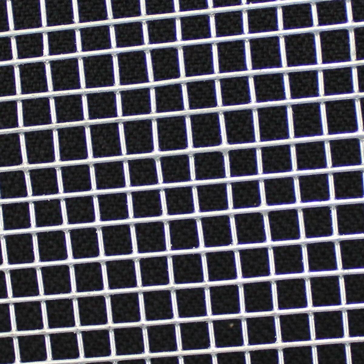 4x Welded Wire Mesh Panels 3\'x2\' Galvanised Steel Sheet 6mm Holes ...
