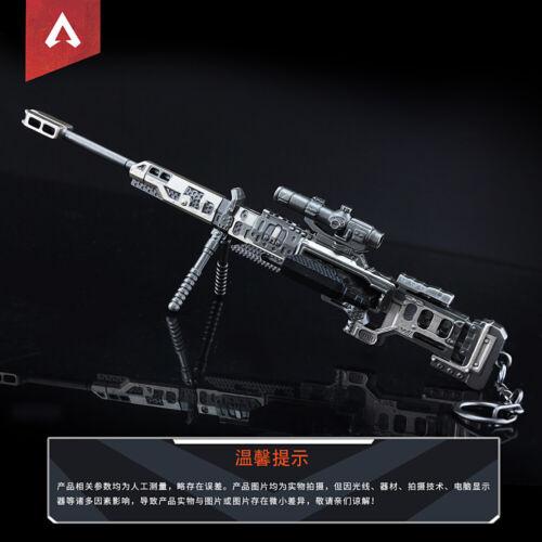 1:6 1//6 gun apex legends Kraber .50 cal Sniper Gun Longbow DMR R99 VK47  PUBG