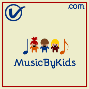MusicByKids-com-COOL-Music-Talent-Theme-COM-Domain-Name