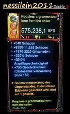 Diablo 3 RoS Ps4 - Waffen Packet -  MODDED - Über 500 SPS - LVL 1 - Archaisch