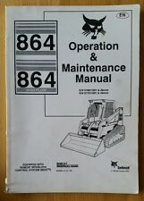 Bobcat 864 Skid Steer Loader operatori manuale