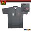 Ben-Davis-Mens-Short-Sleeve-1-2-Zip-Shirts-Pocket-Stripe-Solid-Twill-Half-Zipper thumbnail 11