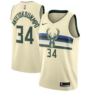 7bff2f2f6 Image is loading Nike-2018-NBA-Milwaukee-Bucks-Giannis-Antetokounmpo-City-