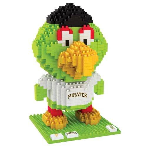 MLB Pittsburgh Pirates 3D BRXLZ Mascot Construction Set Unisex Fanatics