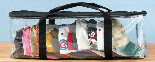 25-30 Baseball Cap Hat Storage Case Organizer Protector Clear Storing Hats Bag