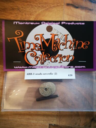 #420 Montreux Time Machine Collection ABR-1 Studs Set Relic 2