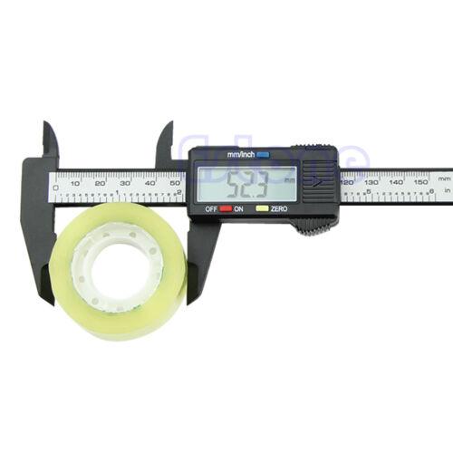 "6/""150mm Carbon Fiber Electronic Digital Vernier Caliper Micrometer Gauge"