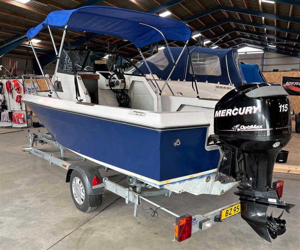Chaparral 204 WA fishing daycruiser inkl. motor...