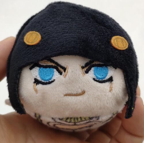 JoJo/'s Bizarre Adventure Golden Wind Plush Stuffed Doll Keychain Collection