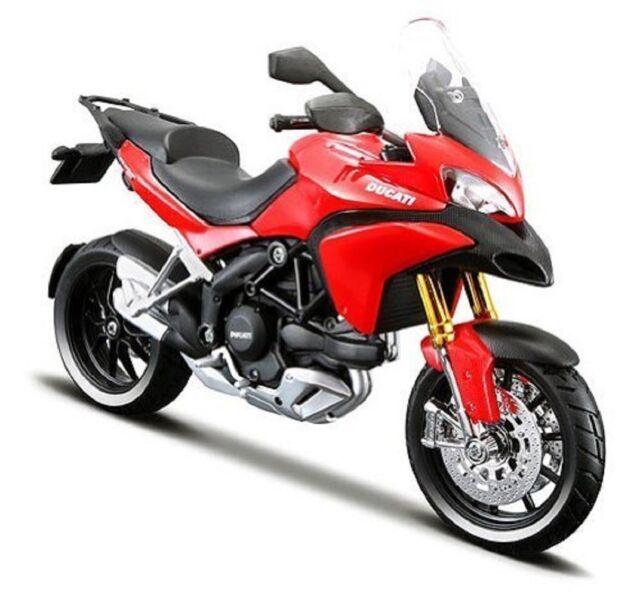 MAISTO 1:12 DUCATI MULTISTRADA 1200S 31188 RED MOTORCYCLE BIKE DIECAST MODEL