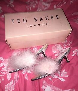 uk cheap sale quality design 50% price Details about Ted Baker Ladies Vintage 1950's Hollywood Starlet Style  Kitten Heel Shoes