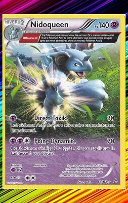 XY5:Primo Choc Carte Pokemon Neuve Française 69//160 Nidoqueen