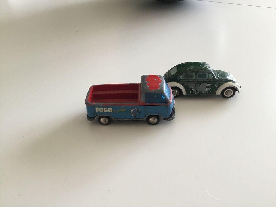 2 teknobiler, vw+ford