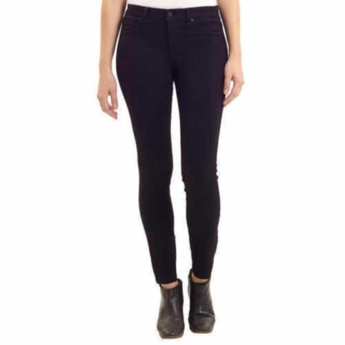 Women/'s Jones New York The Essex Skinny Mid Rise Jeans Size 4//27 Ashley Black