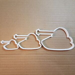 Surfboard Surfing Boogie Shape Cookie Cutter Dough Biscuit Pastry Fondant Sharp