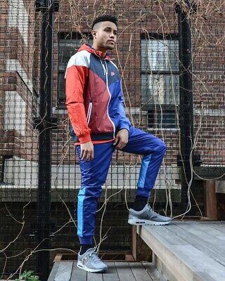 pantalon nike windrunner bleu