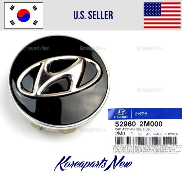 52960-2M000 Genuine OEM Hyundai Wheel Center Cap pack of 4