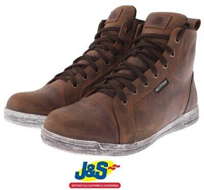 bks urban wp motorcycle boots waterproof casual mens shoes