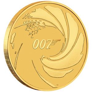 Tuvalu - 100 Dollar 2020 - James Bond 007™ - Premium-Anlagemünze - 1 Oz Gold ST