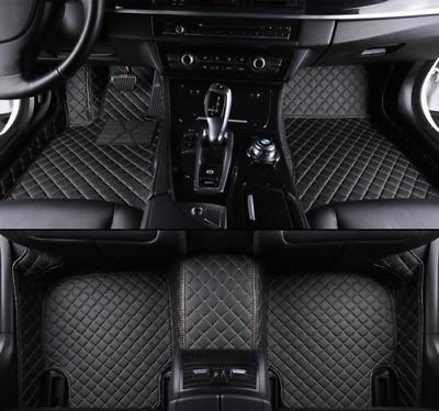 Velours Fußmatten in schwarz Porsche Cayman 987c Coupe mit Bose Sound Bj 2005
