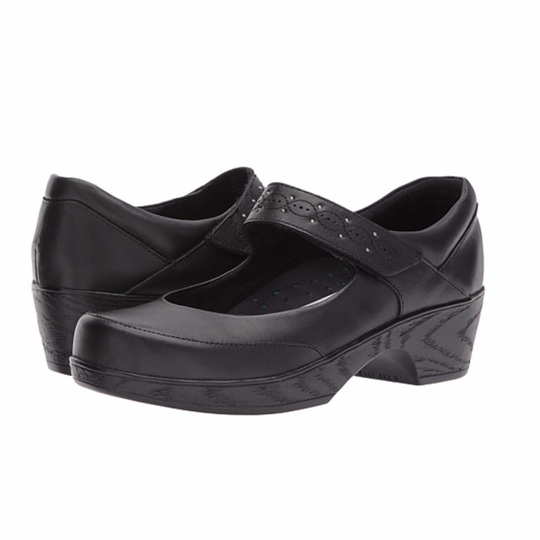Klogs Silvia Women's Clogs Display Model shoes Black KPR KPR KPR 8.5 M 3c7bb8