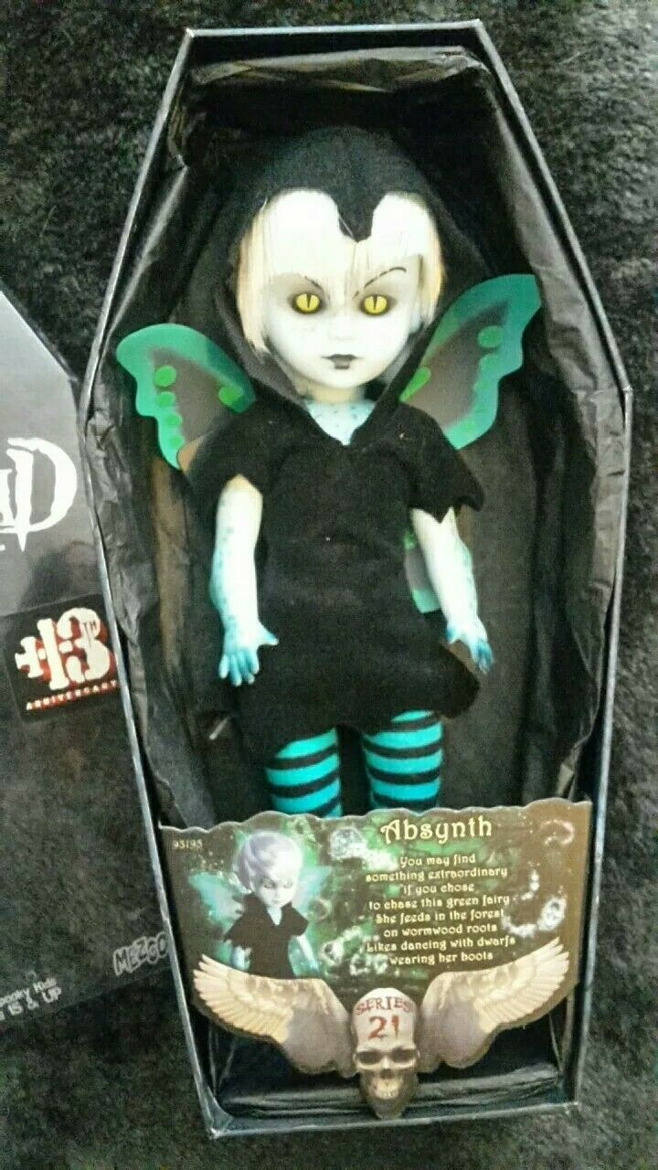 Living Dead Dolls Absynth Serie 21 complete rare doll
