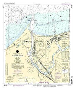 NOAA Chart Fairport Harbor 29th Edition 14837
