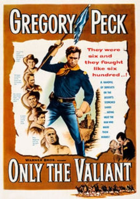 ONLY THE VALIANT (Barbara Payton)  - DVD - Region Free - Sealed