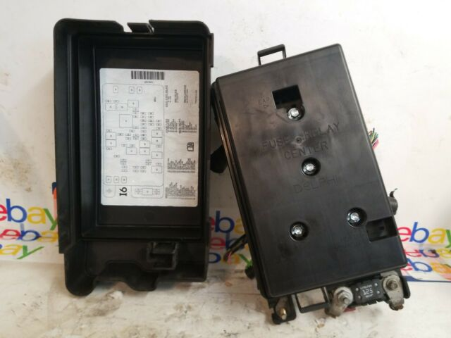 2004 2005 Gmc Envoy Fuse Relay Box 15134408 Oem For Sale Online