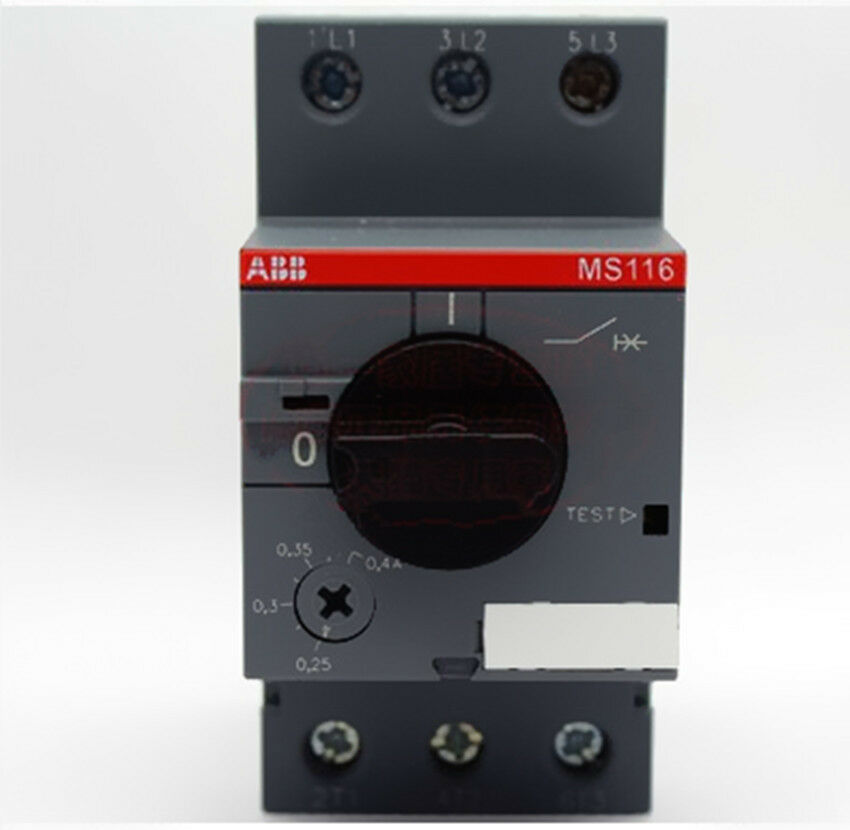 1pc New ABB MS116 0.25-0.4A