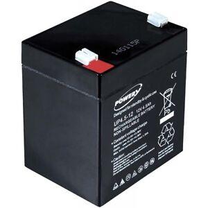 Batterie-gel-plomb-Powery-pour-APC-Back-UPS-ES350-12V-4-5Ah-54Wh-Lead-Acid-Noir