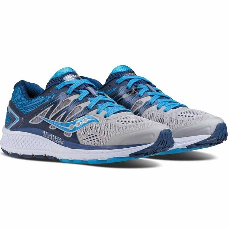 Saucony Women's Omni 16 Grey bluee S10370-1 Running Sneakers Brand New in Box