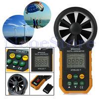 LCD Digital Anemometer Wind Speed Meter Air Flow Tester Measure Weather Station