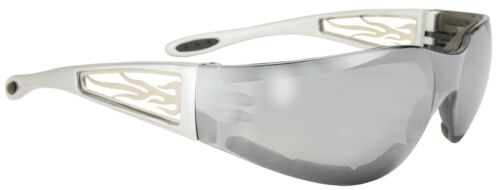 Silver Mirror Sunglasses From Makers Of KD /'s Kickstart 1 Padded Freedom
