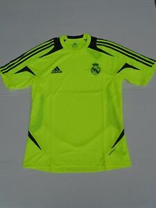 ADIDAS-Maillot-Real-Madrid-Formotion-ClimaCool-Rm-Jaune-Original-M-L-XL-NEUF