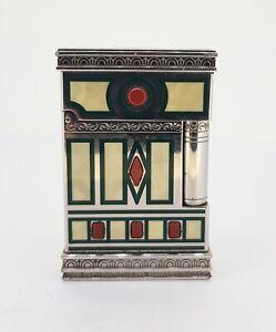 Vintage-ST-Dupont-Gatsby-Medici-lighter-with-original-box