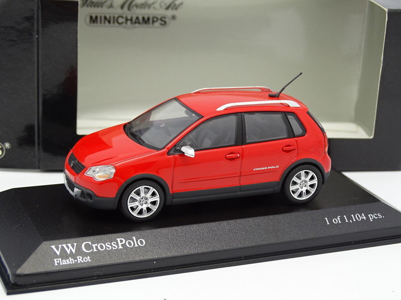 El nuevo outlet de marcas online. Minichamps 1 1 1 43- VW Cross Polo Rojo  cómodo