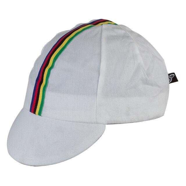 4aafbe6dae1b0 Pace Sportswear Classic 100 Cotton Cycling Bike Hat Cap WC White ...