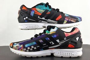 b8b85f105 Adidas Men s Torsion Shoe Size 10.5 ZX FLUX Abstract Trainers