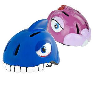 Kinder-Schutzhelm-0-12-Jahre-49-55cm-verstellbar-Tier-Hase-Hai-Fahrradhelm-TUV