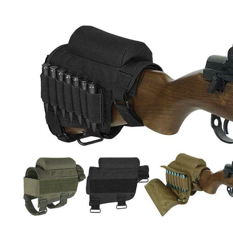 Military Tactical Crown Cheek Rest with Carrier Carrying Case for 300 or 308 Win