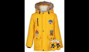 BNWT Boys Paw Patrol Hooded Coat Mittens Hooded Parka Coat Jacket  1-1.5 3-4 5-6