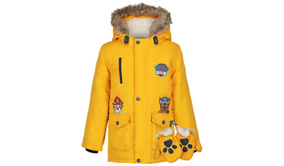 PAW Patrol Shower Resistant Padded Coat with Mittens