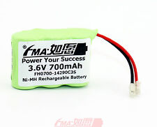 Cordless phone Battery NiMH 2/3AA 3.6V 700mAh Rechargeable cell W/Universal Plug