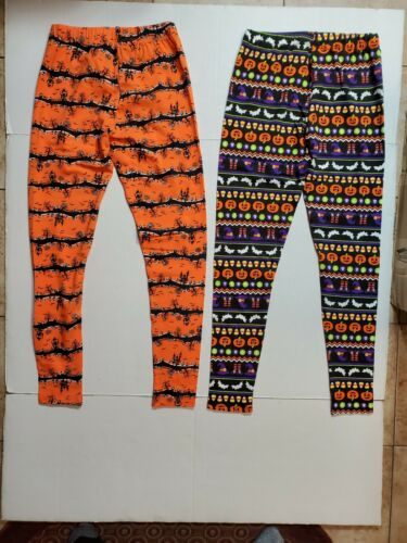 Juniors Halloween *2* Leggings Ankle nobo No Boundaries S 3//5 M 7//9 /& XXL 19 NWT