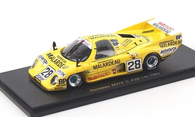 1983 Rondeau M379 C n.28 Le Mans V. Elford  in 1 43 Scale by Spark   S2269