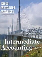 Intermediate Accounting 13th Edition,by Kieso, Weygandt, Warfield Hardcover