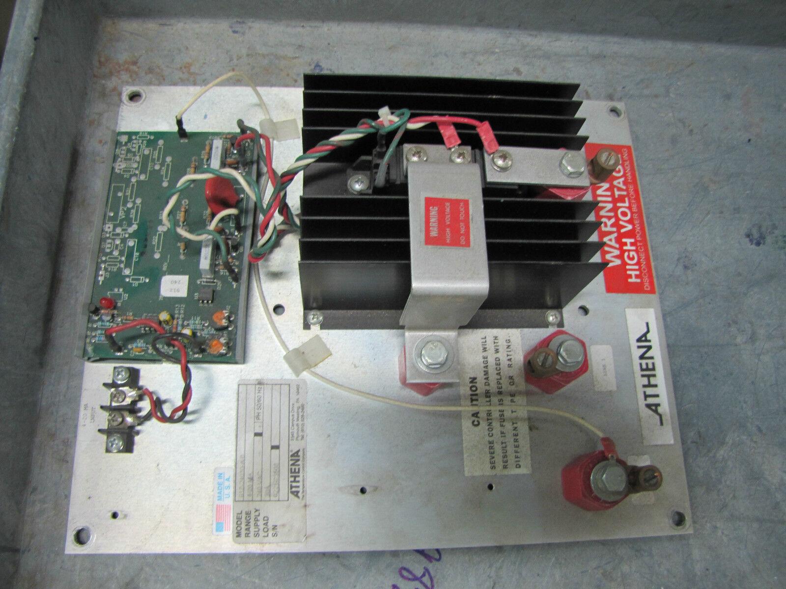 ATHENA TEMPERATURE CONTROL POWER CONTROL 917-24030-A-0 91Z-24030-A-0 30A 1PH